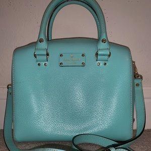 Kate spade neon blue shoulder bag